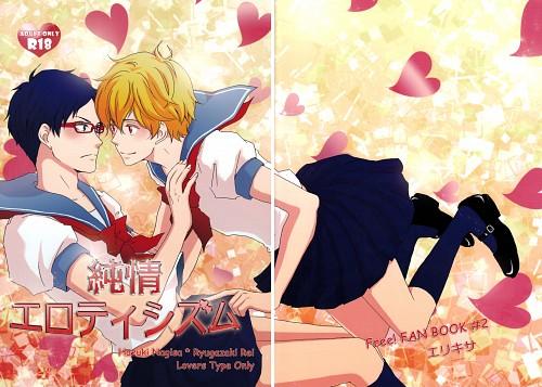 Kisara (Mangaka), Free!, Nagisa Hazuki, Rei Ryuugazaki, Doujinshi Cover