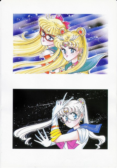 Naoko Takeuchi, Codename: Sailor V, Bishoujo Senshi Sailor Moon, BSSM Original Picture Collection Vol. I, Sailor V