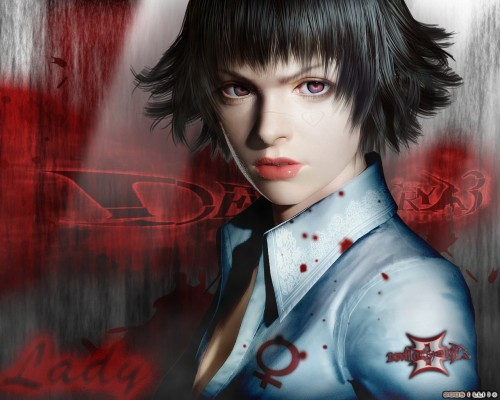 Capcom, Devil May Cry, Lady Wallpaper