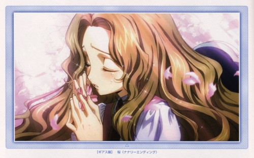 Takahiro Kimura, Sunrise (Studio), Lelouch of the Rebellion, Rebellion Lost Colors Perfect Guide + Event Gallery, Nunnally Lamperouge