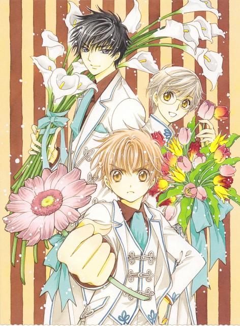 CLAMP, Cardcaptor Sakura, Yukito Tsukishiro, Syaoran Li, Touya Kinomoto