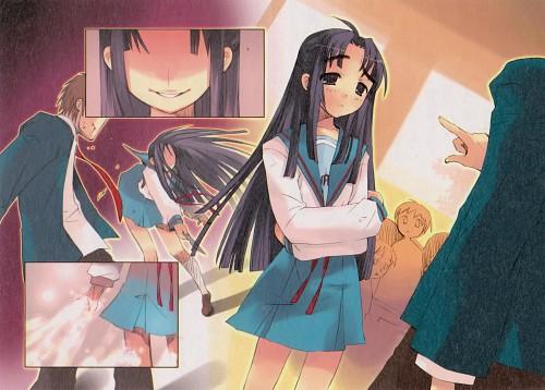 Noizi Ito, Kyoto Animation, The Melancholy of Suzumiya Haruhi, Kyon, Ryoko Asakura