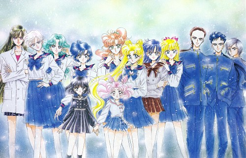 Naoko Takeuchi, Bishoujo Senshi Sailor Moon, BSSM Original Picture Collection Vol. V, Makoto Kino, Hotaru Tomoe