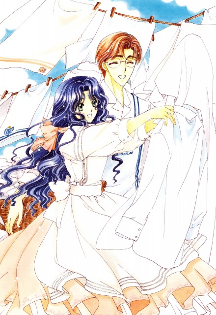 CLAMP, Madhouse, Cardcaptor Sakura, Cardcaptor Sakura Illustrations Collection 2, Fujitaka Kinomoto
