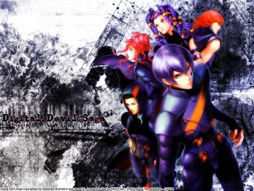 Shin Megami Tensei: Digital Devil Saga, Argilla, Serph, Sera, Heat (Digital Devil Saga) Wallpaper