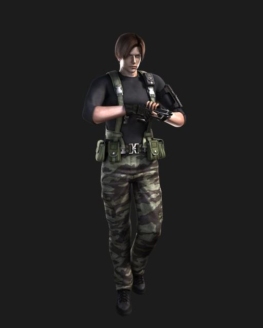 Capcom, Resident Evil: The Dark Side Chronicles, Leon S. Kennedy