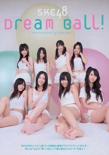 AKB48, Makiko Saito, Kumi Yagami, Masana Oya, Rena Matsui