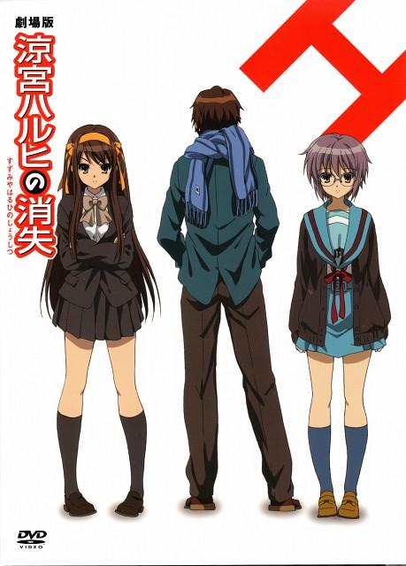 Kyoto Animation, The Melancholy of Suzumiya Haruhi, Yuki Nagato, Haruhi Suzumiya, Kyon