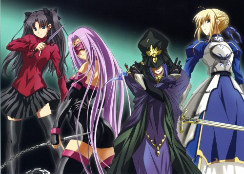 Studio DEEN, TYPE-MOON, Fate/Stay Night Visual Collection, Fate/stay night, Caster (Fate/stay night)