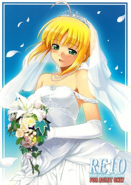 Namonashi, Fate/stay night, Saber, Doujinshi, Doujinshi Cover