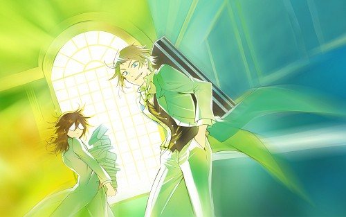 Jun Mochizuki, Xebec, Pandora Hearts, Eliot Nightray, Leo Baskerville Wallpaper