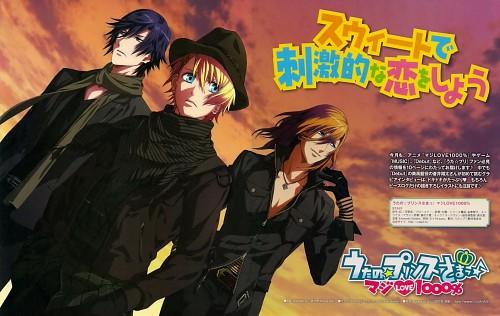 A-1 Pictures, Uta no Prince-sama, Ren Jinguji, Tokiya Ichinose, Sho Kurusu