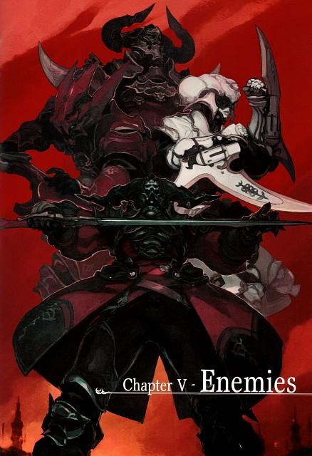 Square Enix, The Art of Eorzea, Final Fantasy XIV, Livia Sas Junius, Gaius Van Baelsar
