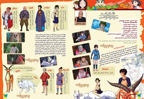 Hayao Miyazaki, Studio Ghibli, Princess Mononoke, San, Yakul