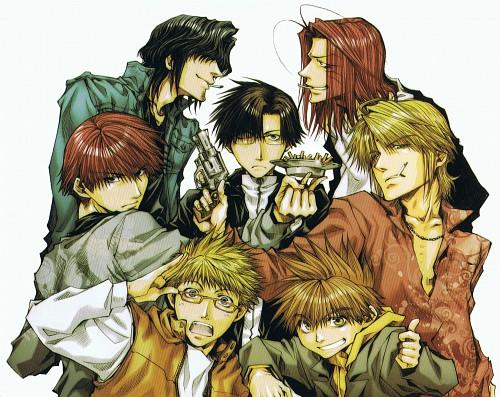 Kazuya Minekura, Studio Pierrot, Bus Gamer, Saiyuki, Genjyo Sanzo