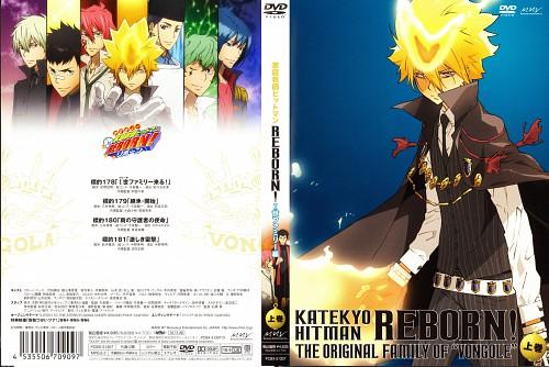 Akira Amano, Katekyo Hitman Reborn!, G., Daemon Spade, Alaude