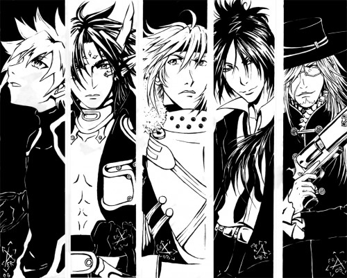 Akira Amano, Katsura Hoshino, Yoshiyuki Sadamoto, Yukiru Sugisaki, TMS Entertainment