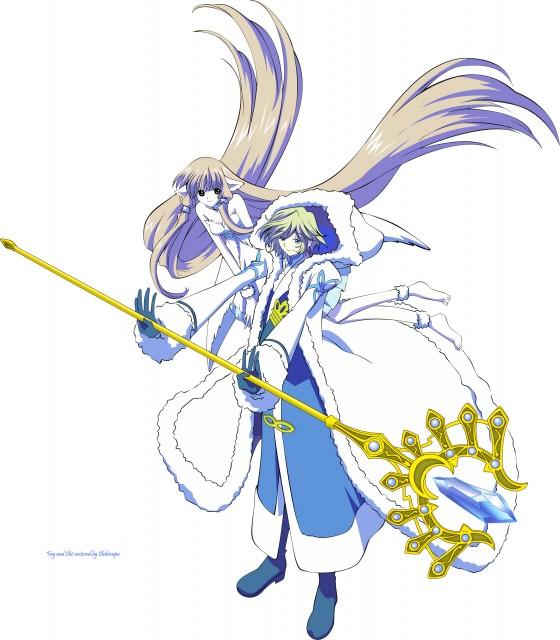 Tags Anime Tsubasa Reservoir Chronicle Fanart Fay D: Tsubasa Reservoir Chronicle: Fay & Chii Vector