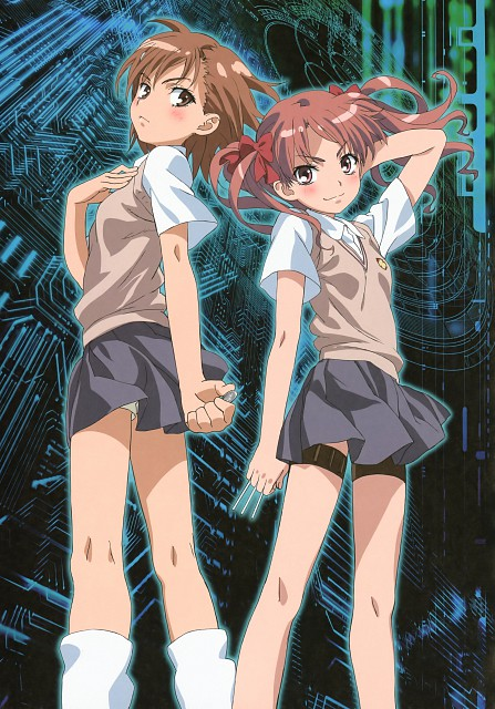 To Aru Kagaku no Railgun, To Aru Kagaku No Railgun Official Visual Book, Mikoto Misaka, Kuroko Shirai