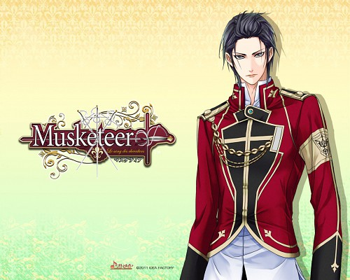 Takashi Kiriya, Idea Factory, Musketeer: Le Sang Des Chevaliers, Athos, Official Wallpaper