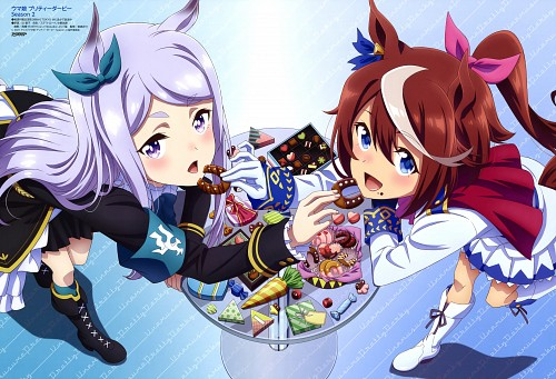 Studio KAI, Uma Musume: Pretty Derby, Tokai Teio, Mejiro Mcqueen, Animedia