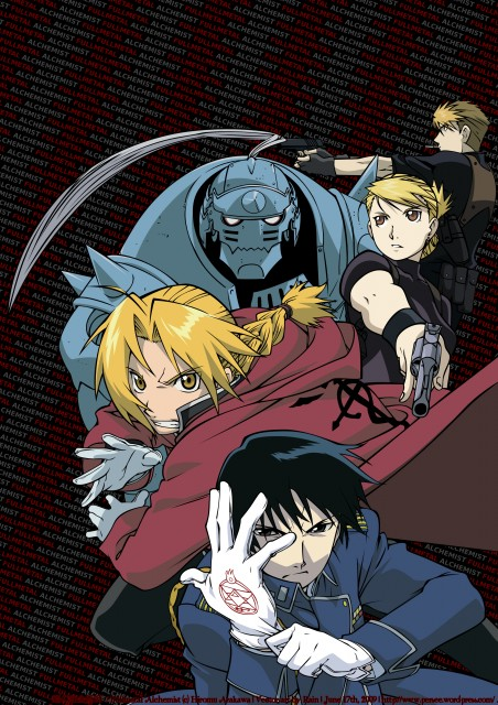 Hiromu Arakawa, BONES, Fullmetal Alchemist, Alphonse Elric, Roy Mustang