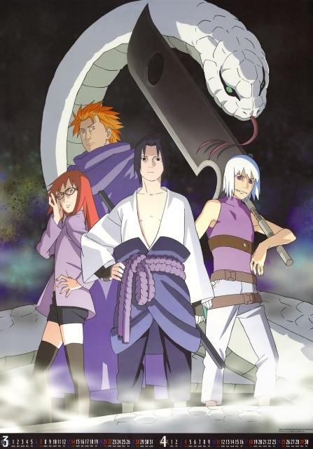 Studio Pierrot, Naruto, Juugo , Suigetsu Hozuki, Karin (Naruto)