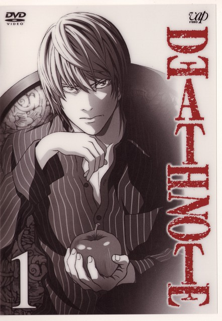 Madhouse, Death Note, Light Yagami, DVD Cover