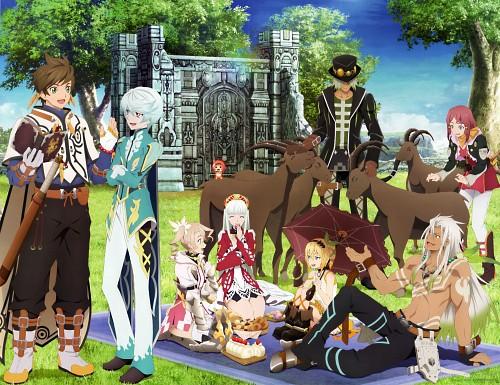 Ufotable, Namco, Tales of Zestiria, Rose (Tales of Zestiria), Mikleo