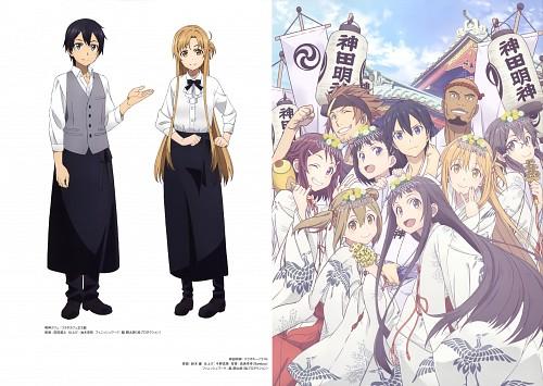 Suzuki Gou, Tatsuyuki Maeda, SAO Ordinal Scale Artworks, Sword Art Online, Keiko Ayano