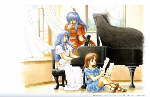 Shunsuke Taue, Falcom, Falcom History Legend of Illustrations, Ys, Feena (Ys)