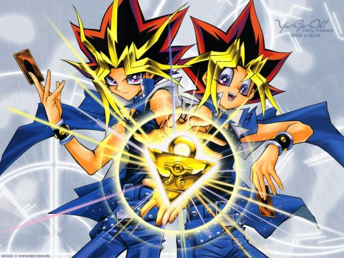 Yu-Gi-Oh Duel Monsters, Yami Yuugi, Yuugi Mutou Wallpaper