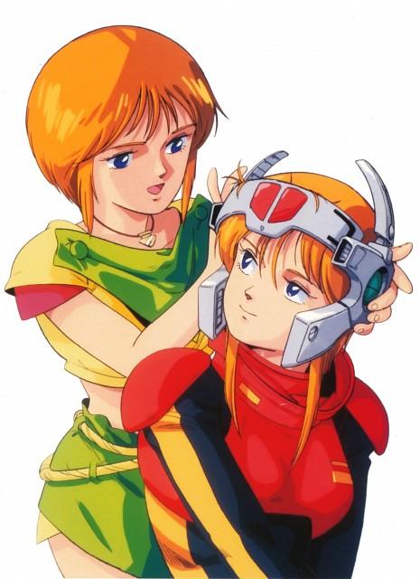 Hiroyuki Kitazume, Sunrise (Studio), Mobile Suit Gundam Double Zeta, Puru Two, Elpeo Puru