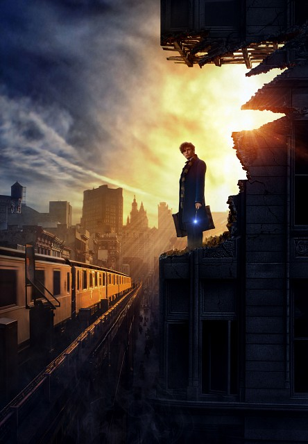 Warner Bros., Fantastic Beasts, Newt Scamander, Pin-up Poster