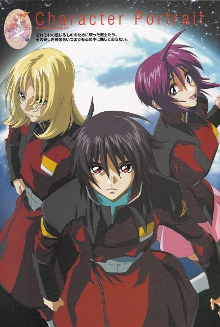 Sunrise (Studio), Mobile Suit Gundam SEED Destiny, Shinn Asuka, Lunamaria Hawke, Rey Za Burrel