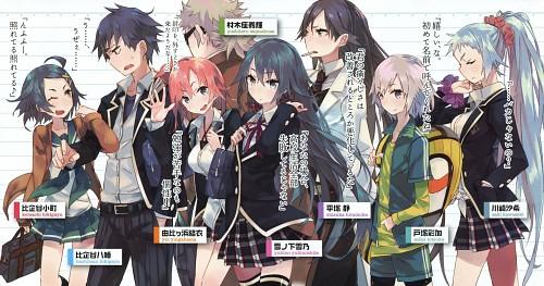 Ponkan Eight, Oregairu, Yoshiteru Zaimokuza, Yui Yuigahama, Hachiman Hikigaya