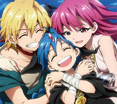 Shinobu Ohtaka, A-1 Pictures, MAGI: The Labyrinth of Magic, Morgiana, Aladdin (MAGI)