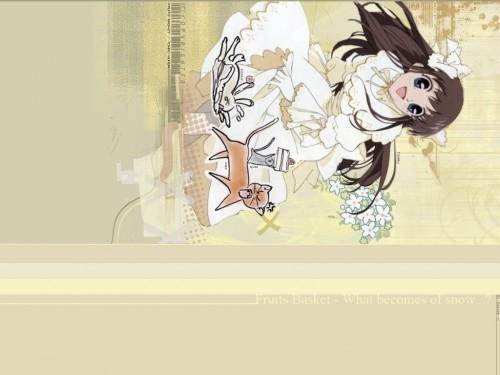 Natsuki Takaya, Fruits Basket, Kyo Sohma, Yuki Sohma, Tohru Honda Wallpaper