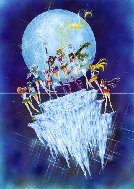 Naoko Takeuchi, Bishoujo Senshi Sailor Moon, BSSM Original Picture Collection Vol. III, Sailor Neptune, Rei Hino