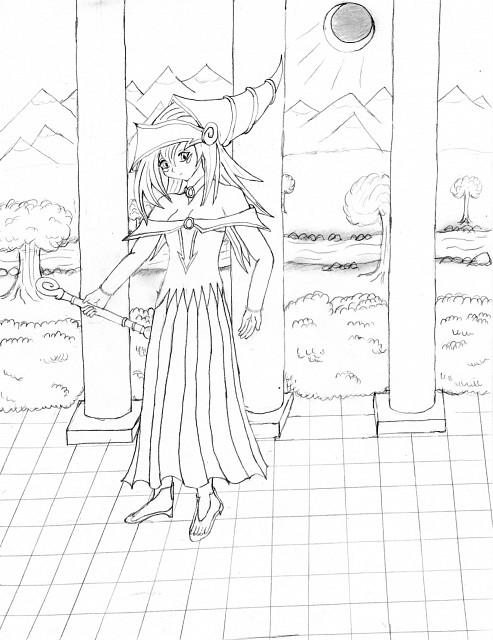 Yu-Gi-Oh! Duel Monsters, Dark Magician Girl, Member Art