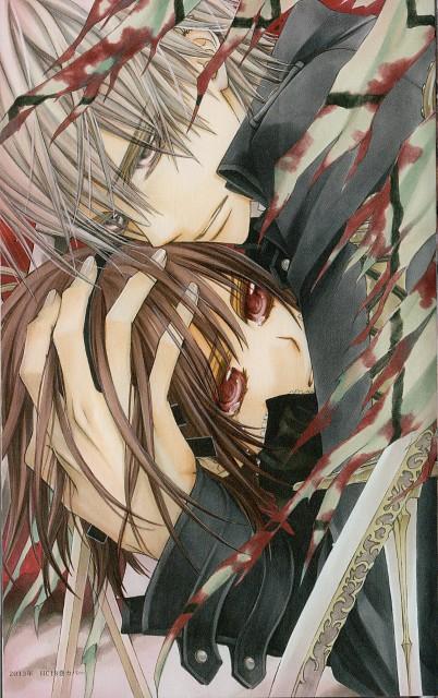 Matsuri Hino, Vampire Knight, Last Night: Vampire Knight Illustrations, Zero Kiryuu, Yuuki Cross