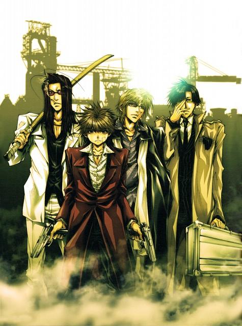 Kazuya Minekura, Saiyuki, Salty Dog IX, Cho Hakkai, Sha Gojyo