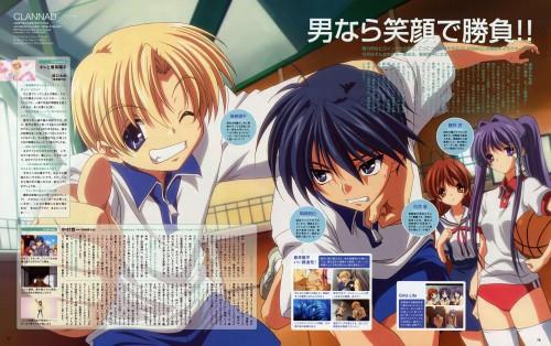 Kyoto Animation, Clannad, Kyou Fujibayashi, Nagisa Furukawa, Youhei Sunohara