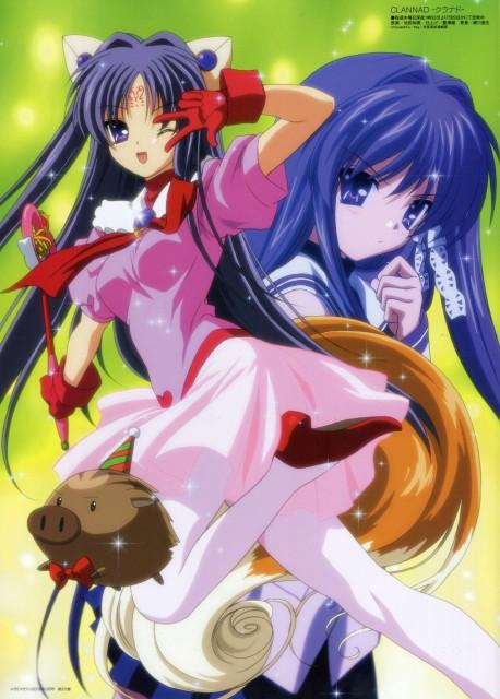 Kazumi Ikeda, Kyoto Animation, Clannad, Kyou Fujibayashi, Botan (Clannad)