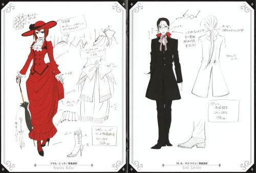 A-1 Pictures, Kuroshitsuji, Grell Sutcliff, Angelina Durless, Character Sheet