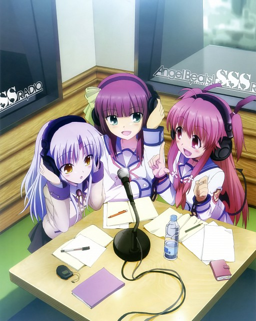 Na-Ga, Key (Studio), Angel Beats!, Angel Beats! Official Guide Book, Yui (Angel Beats!)