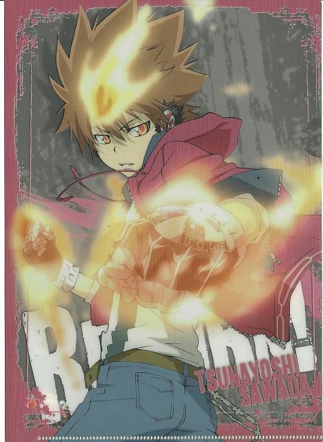 Akira Amano, Katekyo Hitman Reborn!, Tsunayoshi Sawada, Pencil Board