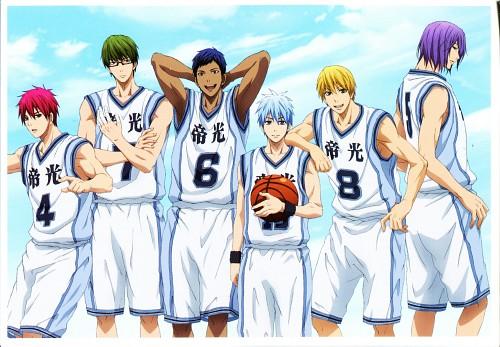 Tadatoshi Fujimaki, Production I.G, Kuroko no Basket, Atsushi Murasakibara, Tetsuya Kuroko