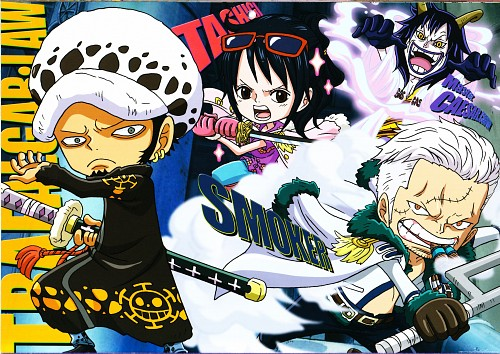 Eiichiro Oda, Toei Animation, One Piece, Trafalgar Law, Caesar Clown