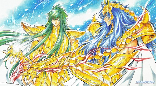 Shiori Teshirogi, Saint Seiya: The Lost Canvas, Scorpio Kardia, Aquarius Degel